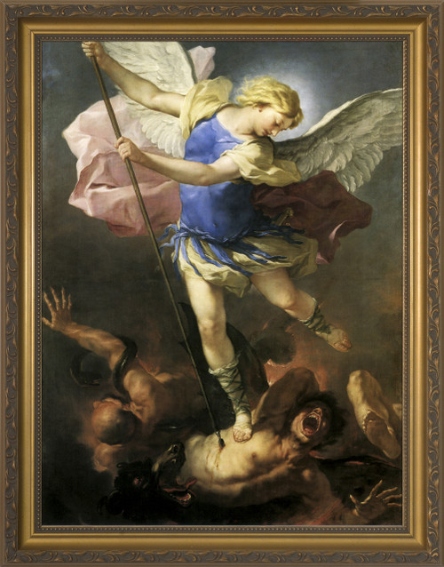 St. Michael by Giordano Framed Art