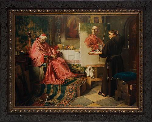 The Cardinal's Portrait Framed Art