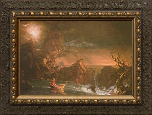 The Voyage of Life: Manhood Framed Art