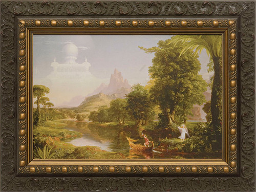 The Voyage of Life: Youth Framed Art