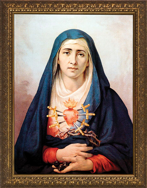 Sorrowful Mother Framed Art