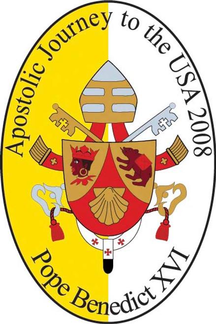 Pope Benedict XVI Apostolic Journey Bumpersticker