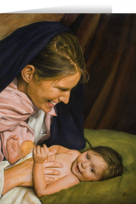 Joy of Mary Greeting Card