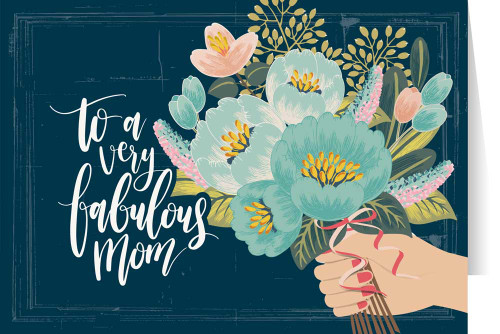 Fabulous Mom Mother's Day Greeting Card