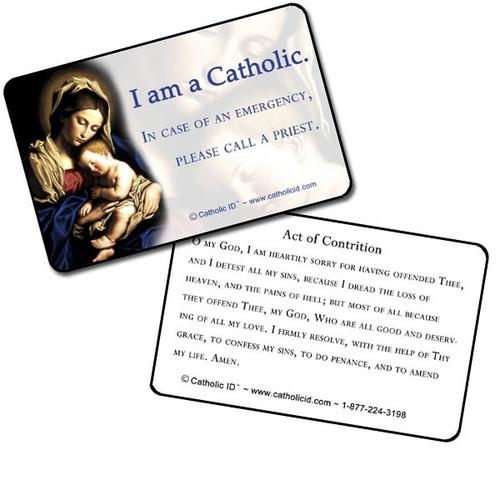 Catholic ID Cards