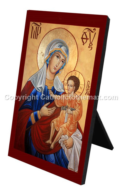 The Virgin of Hodegetria Desk Plaque