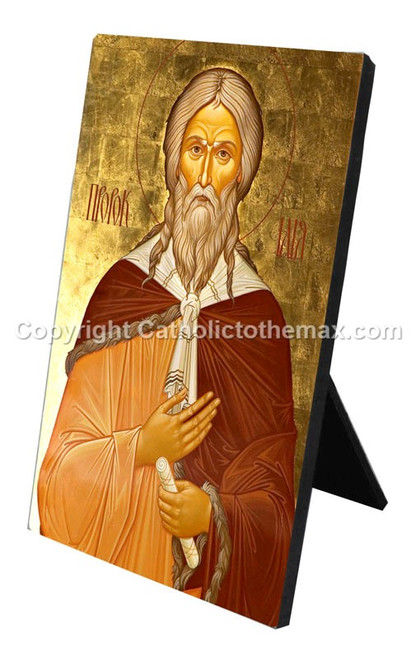 The Holy Prophet Elijah Icon Desk Plaque