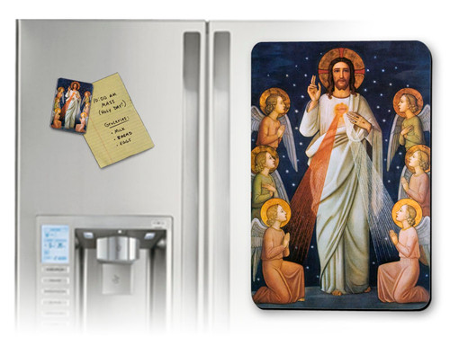 King of Mercy Magnet