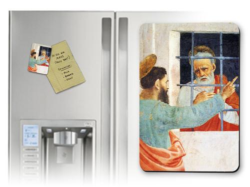 St. Paul Visits St. Peter Magnet