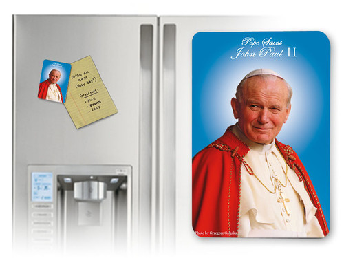 Pope John Paul II Sainthood Canonization Magnet