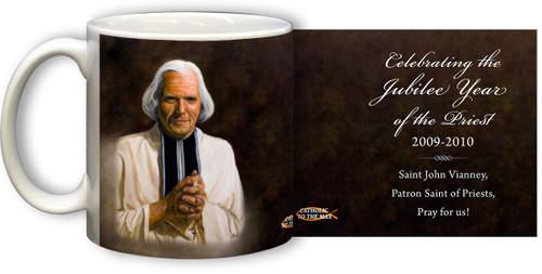St. John Vianney Jubilee Priests Mug