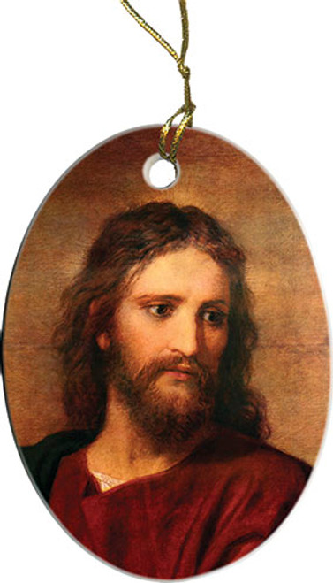 Christ at 33 by Hoffman Ornament