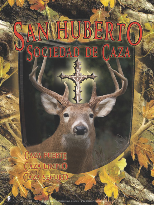 Spanish St. Hubert Hunt Club Poster