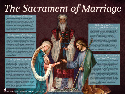 the sacrament of marriage There are seven sacraments of the catholic church or marriage, is another sacrament that consecrates for a particular mission in building up the church.