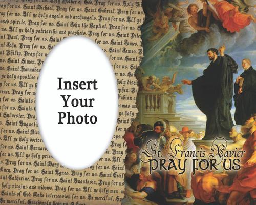St. Francis Xavier Photo Frame