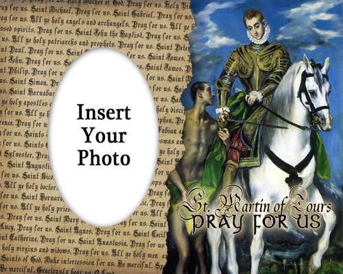 St. Martin of Tours Photo Frame
