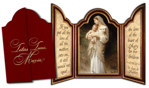 L'Innocence Tri-fold Triptych Cards