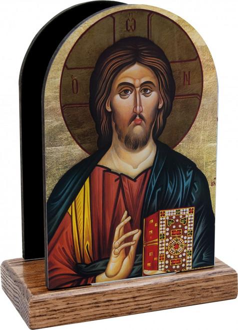 Christ the Teacher Table Organizer (Vertical)