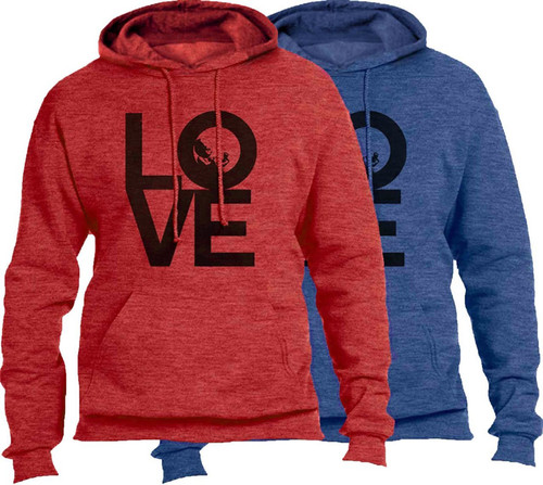 Love with Baby Heather Pro-Life Hoodie