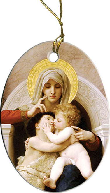 Mary, Jesus & St. John Ornament