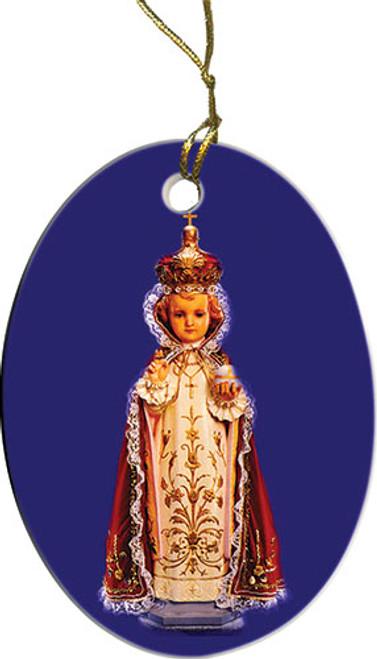 Infant of Prague Ornament