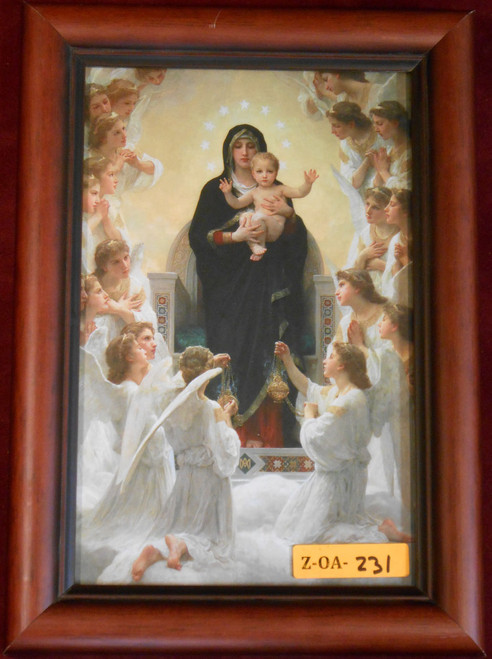 CLEARANCE Queen of Angels 5x8 Framed Print