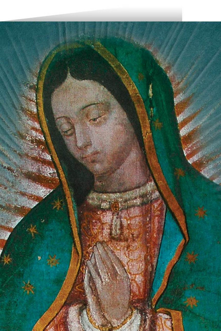 Our Lady of Guadalupe Detail Greeting Card