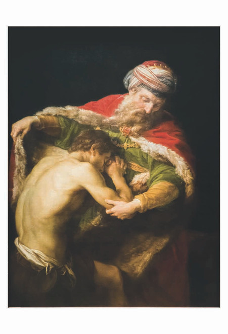 The Return of the Prodigal Son by Pompeo Batoni Print