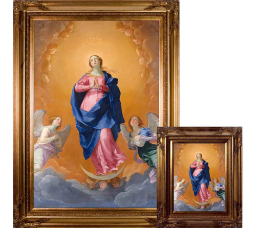 The Immaculate Conception by Guido Reni - Museum Framed Art
