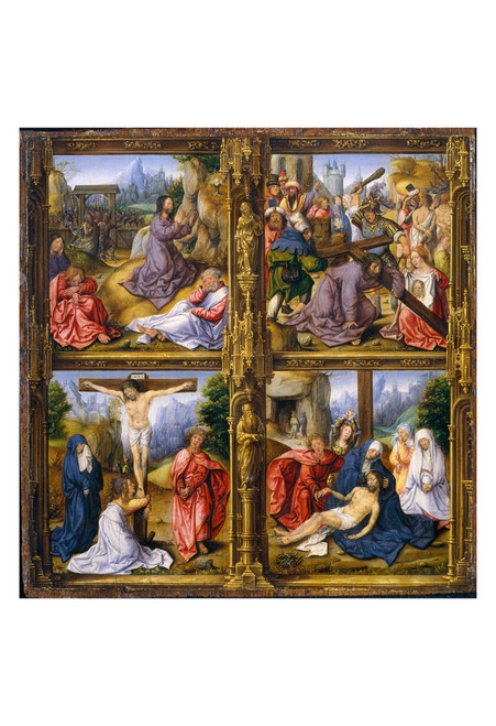 Four Scenes from the Passion by Follower of Bernard van Orley Print