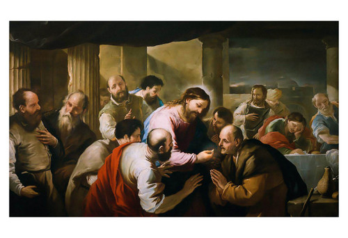 The Communion of the Apostles by Luca Giordano Print