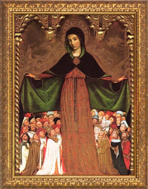 Mother of Mercy - Gold Framed Art