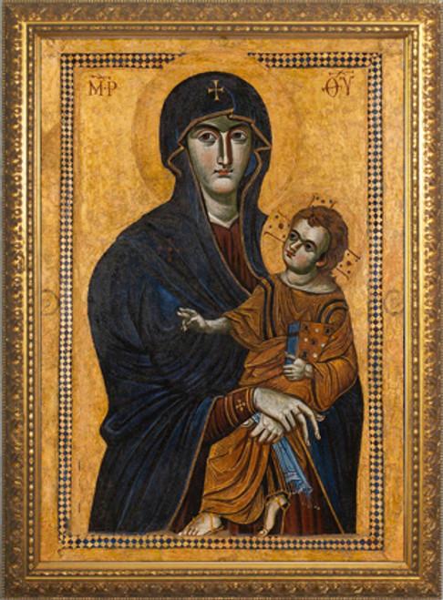 Salus Populi Romani Standard Gold Framed Art