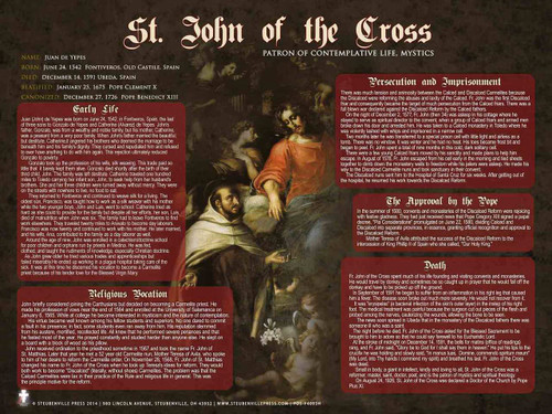 St. John of the Cross Explained Poster
