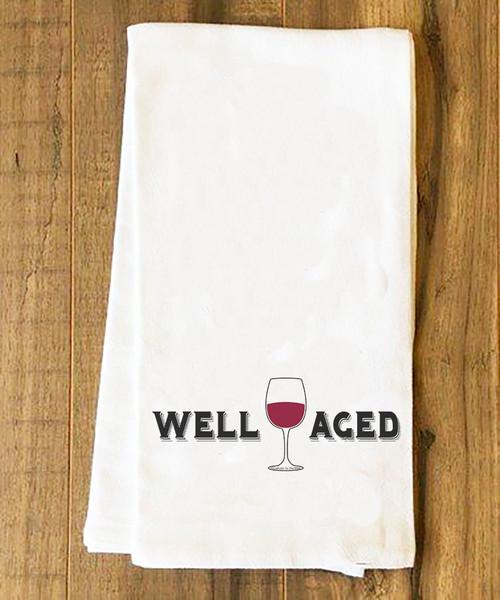 Well Aged Wine Tea Towel
