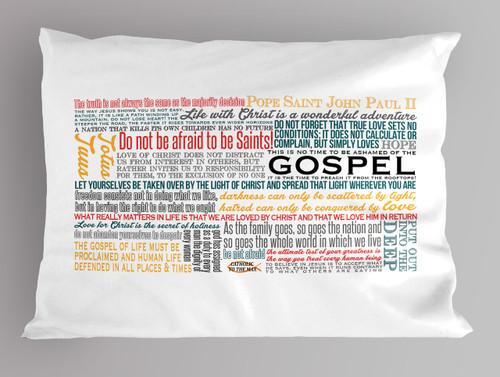 John Paul Quote Pillowcase