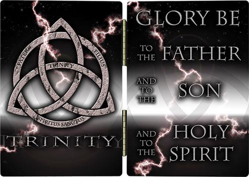 Trinity Glory Be (Storm) Diptych