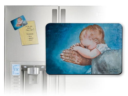 Safe in Arms by Susan Brindle Magnet