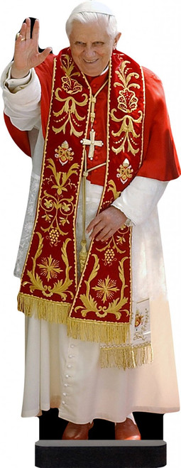 Benedict XVI in Red Standee