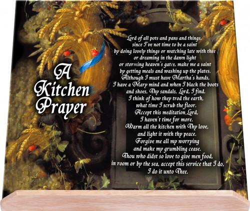 A Kitchen Prayer Cook Book Stand