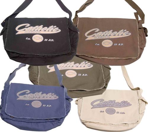 Catholic Original Large Messenger Bag