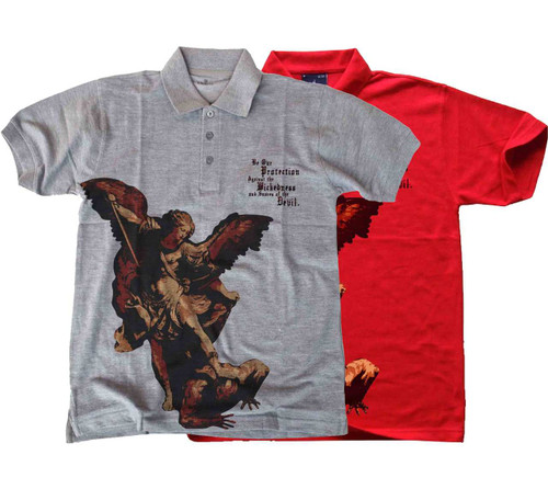 St. Michael the Archangel Polo Shirt
