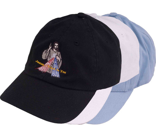 Divine Mercy Embroidered Hat