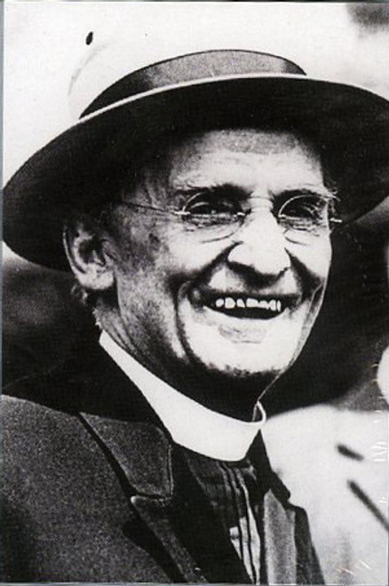 Father Baker Smiling Holy Card