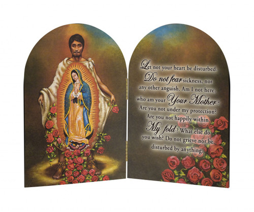St. Juan Diego Arched Diptych