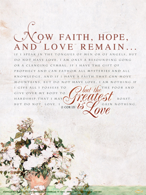 1 Corinthians 13 Poster Catholic To The Max Online