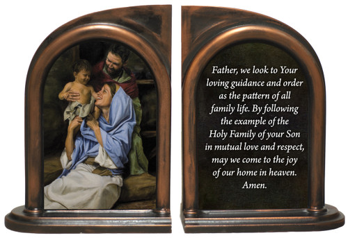Holy Family Bookends