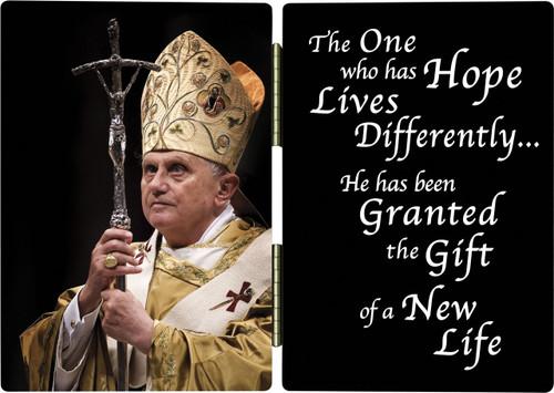 Pope Benedict XVI Diptych
