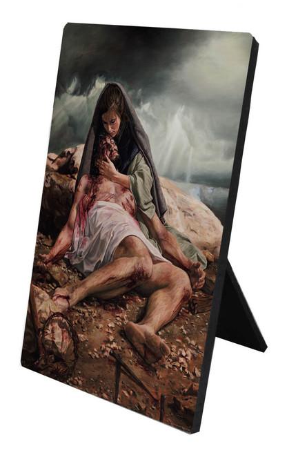 Pieta (Jenicke) Desk Plaque