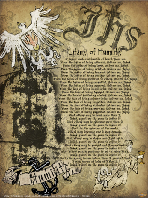 Lit Of Humility Poster Catholic To The Max Online